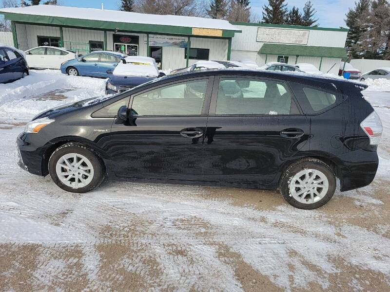 2014 Toyota Prius v for sale at SCENIC SALES LLC in Arena WI