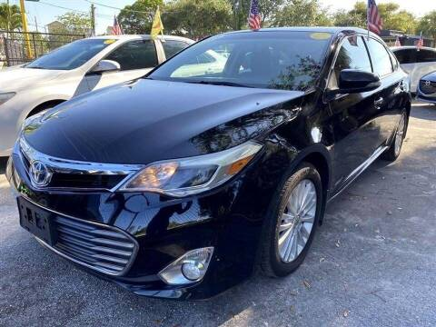 2013 Toyota Avalon Hybrid for sale at EZ Own Car Sales of Miami in Miami FL