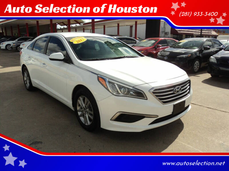 2017 Hyundai Sonata for sale at Auto Selection of Houston in Houston TX