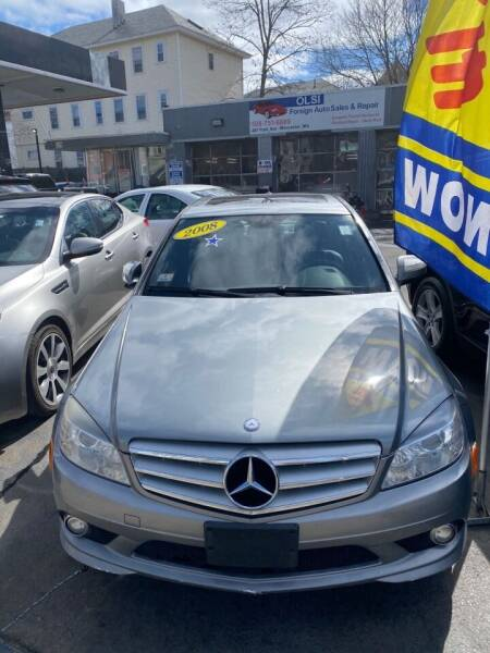 2008 Mercedes-Benz 300-Class for sale at Olsi Auto Sales in Worcester MA