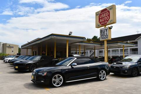 2014 Audi S5 for sale at Houston Used Auto Sales in Houston TX