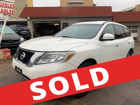2015 Nissan Pathfinder for sale at ELITE MOTOR CARS OF MIAMI in Miami FL