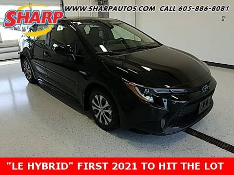 2021 Toyota Corolla Hybrid for sale at Sharp Automotive in Watertown SD