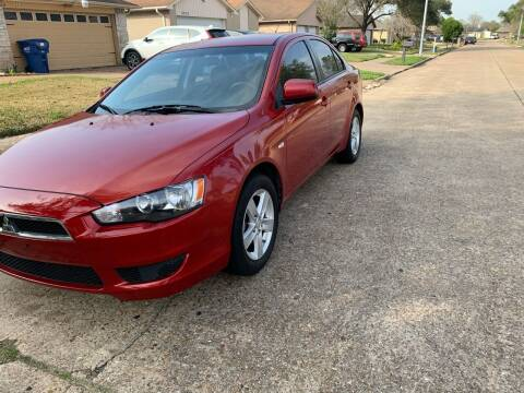 2009 Mitsubishi Lancer for sale at Demetry Automotive in Houston TX
