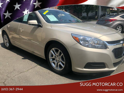 2014 Chevrolet Malibu for sale at Sugg Motorcar Co in Boyertown PA