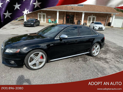2011 Audi S4 for sale at Adopt an Auto in Clarksville TN