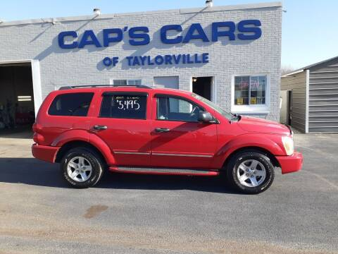 2004 Dodge Durango for sale at Caps Cars Of Taylorville in Taylorville IL