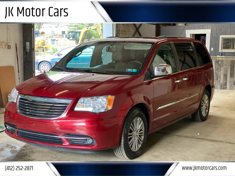 2014 Chrysler Town and Country for sale at JK Motor Cars in Pittsburgh PA