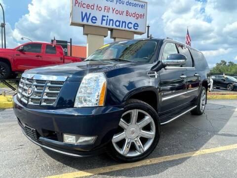 2007 Cadillac Escalade ESV for sale at American Financial Cars in Orlando FL