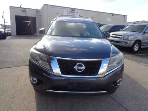 2013 Nissan Pathfinder for sale at ACH AutoHaus in Dallas TX