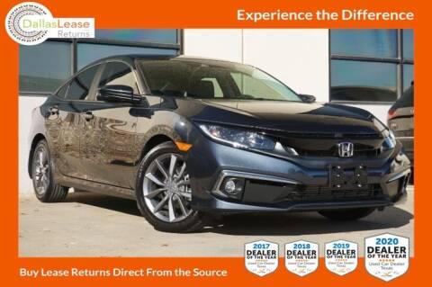 2019 Honda Civic for sale at Dallas Auto Finance in Dallas TX