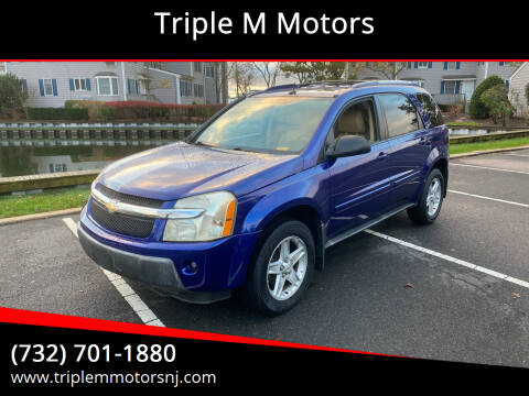 2005 Chevrolet Equinox for sale at Triple M Motors in Point Pleasant NJ