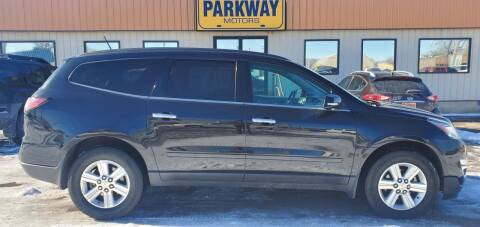 2014 Chevrolet Traverse for sale at Parkway Motors in Springfield IL