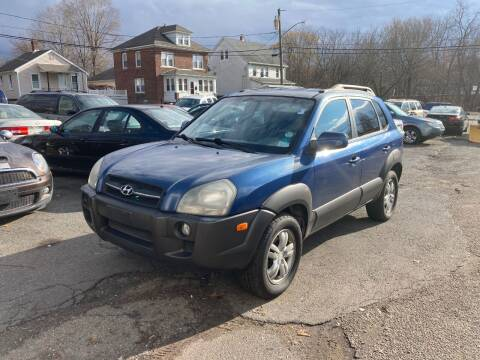 2006 Hyundai Tucson for sale at ENFIELD STREET AUTO SALES in Enfield CT