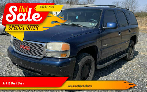 2001 GMC Yukon for sale at A & R Used Cars in Clayton NJ