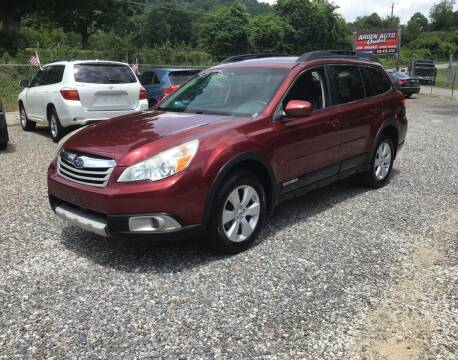 2012 Subaru Outback for sale at Arden Auto Outlet in Arden NC