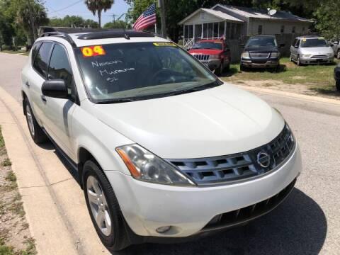 2004 Nissan Murano for sale at Castagna Auto Sales LLC in Saint Augustine FL