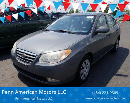 2007 Hyundai Elantra for sale at Penn American Motors LLC in Allentown PA
