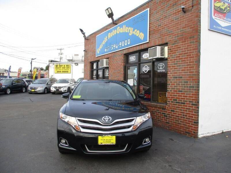2014 Toyota Venza for sale at Everett Auto Gallery in Everett MA