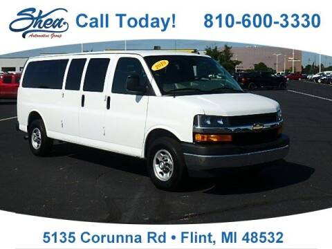 2019 Chevrolet Express Passenger for sale at Jamie Sells Cars 810 in Flint MI