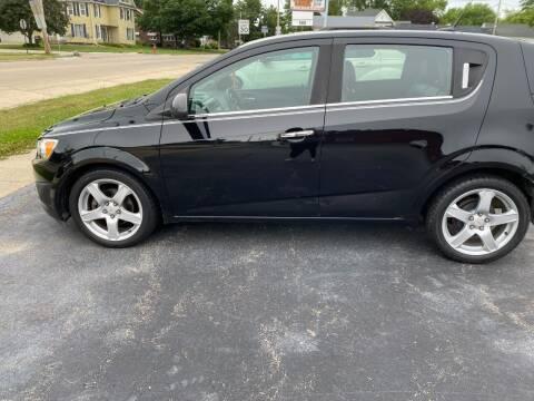 2012 Chevrolet Sonic for sale at Haldane Custom in Polo IL
