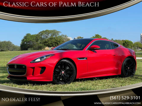 2016 Jaguar F-TYPE for sale at Classic Cars of Palm Beach in Jupiter FL