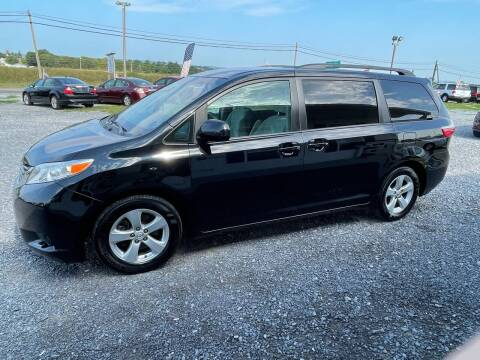 2015 Toyota Sienna for sale at Tri-Star Motors Inc in Martinsburg WV