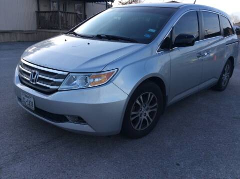 2012 Honda Odyssey for sale at OASIS PARK & SELL in Spring TX