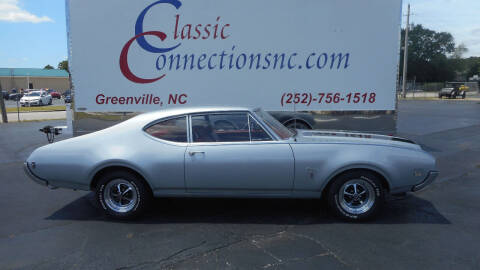 1969 Oldsmobile Cutlass for sale at Classic Connections in Greenville NC