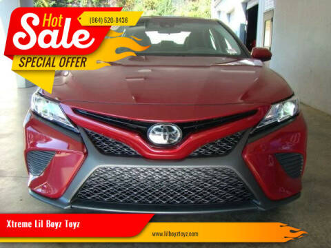 2018 Toyota Camry for sale at Xtreme Lil Boyz Toyz in Greenville SC