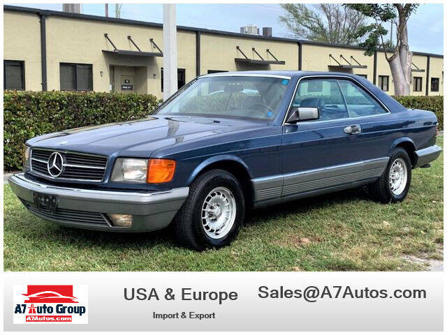 1984 Mercedes-Benz 500-Class for sale at A7 AUTO SALES in Holly Hill FL