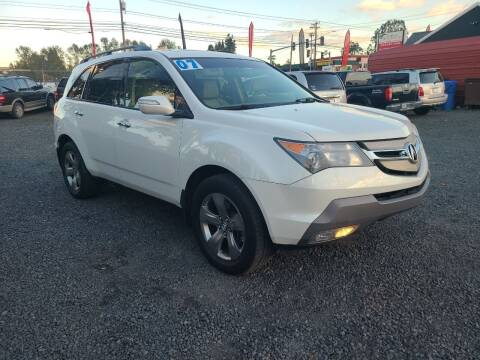 2007 Acura MDX for sale at Universal Auto Sales in Salem OR