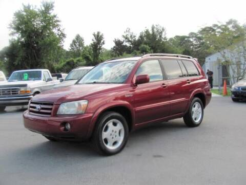 2005 Toyota Highlander for sale at Pure 1 Auto in New Bern NC