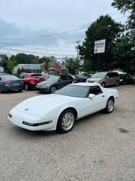 1991 Chevrolet Corvette for sale at NEWFOUND MOTORS INC in Seabrook NH