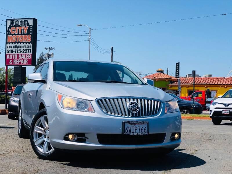 2012 Buick LaCrosse for sale at City Motors in Hayward CA