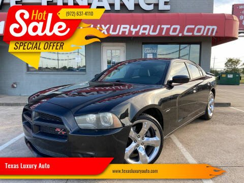 2011 Dodge Charger for sale at Texas Luxury Auto in Cedar Hill TX