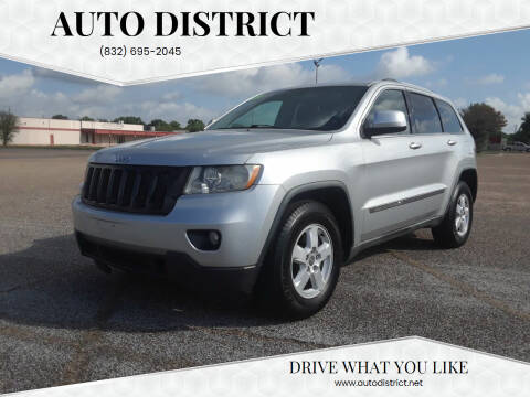 2011 Jeep Grand Cherokee for sale at Auto District in Baytown TX