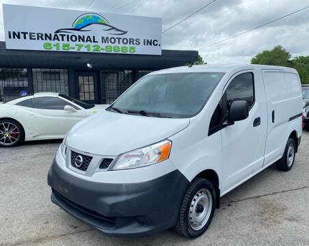 2015 Nissan NV200 for sale at International Motors Inc. in Nashville TN
