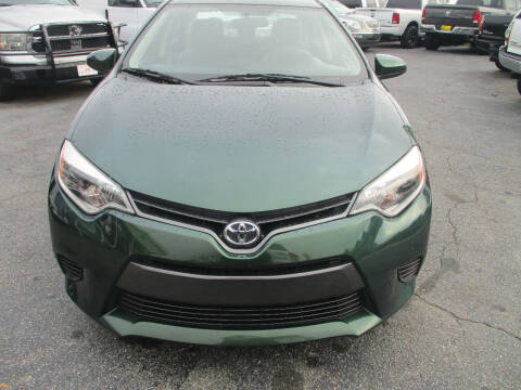 2016 Toyota Corolla for sale at LOS PAISANOS AUTO & TRUCK SALES LLC in Doraville GA