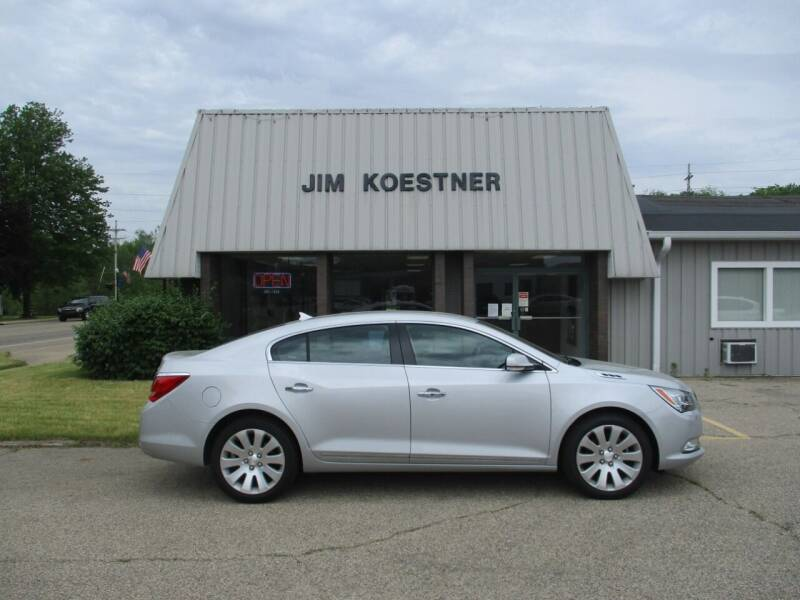 2014 Buick LaCrosse for sale at JIM KOESTNER INC in Plainwell MI