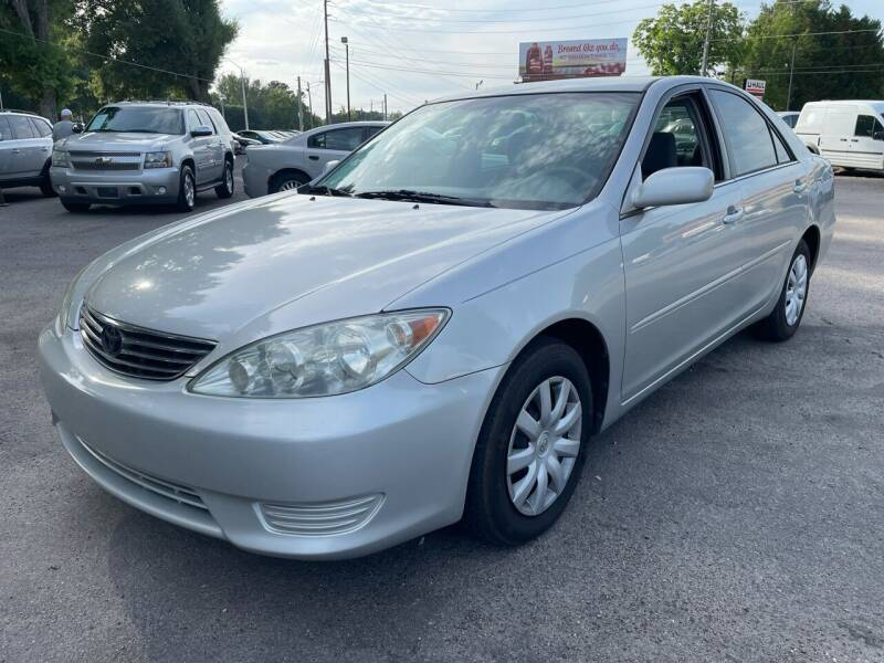 2005 Toyota Camry for sale at Atlantic Auto Sales in Garner NC