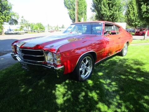 1972 Chevrolet Chevelle for sale at LULAY'S CAR CONNECTION in Salem OR