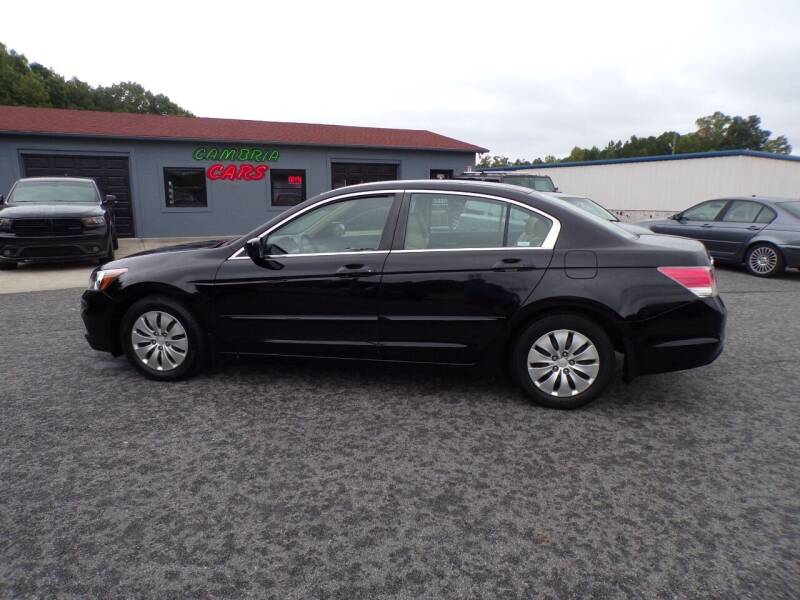 2011 Honda Accord for sale at Cambria Cars in Mooresville NC