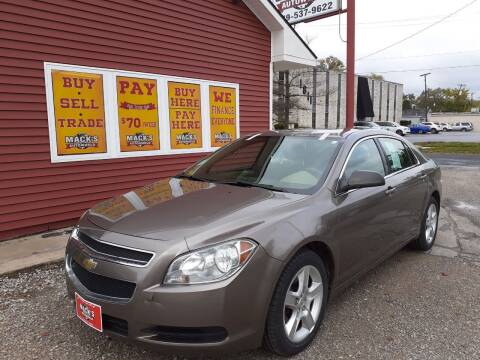 2010 Chevrolet Malibu for sale at Mack's Autoworld in Toledo OH