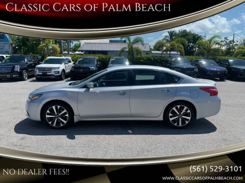 2016 Nissan Altima for sale at Classic Cars of Palm Beach in Jupiter FL