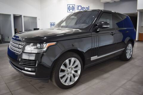 2016 Land Rover Range Rover for sale at iDeal Auto Imports in Eden Prairie MN