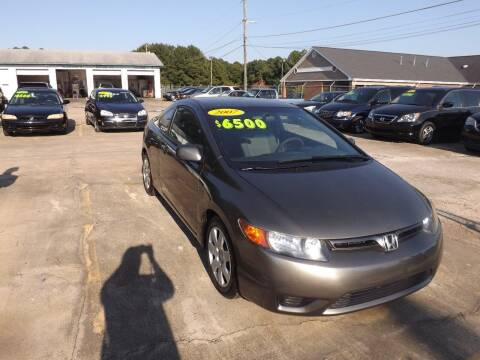 2007 Honda Civic for sale at Mc Grady Motor Co in Fayetteville NC