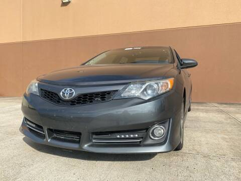 2013 Toyota Camry for sale at ALL STAR MOTORS INC in Houston TX
