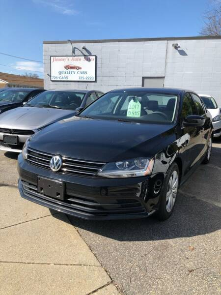 2017 Volkswagen Jetta for sale at Jimmys Auto Sales in North Providence RI
