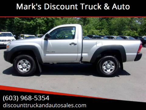 2008 Toyota Tacoma for sale at Mark's Discount Truck & Auto in Londonderry NH